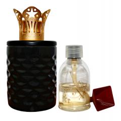 ARISTOTLE - BLACK Ceramic Diffuser Gift Set