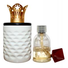 ARISTOTLE - WHITE Ceramic Diffuser Gift Set